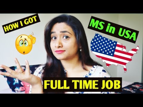 How to get job in usa after ms   jobs for students in usa   it jobs in usa for indian freshers