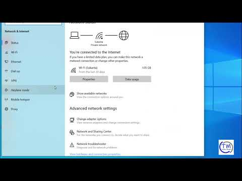 How to see your network adapter speed on windows 10