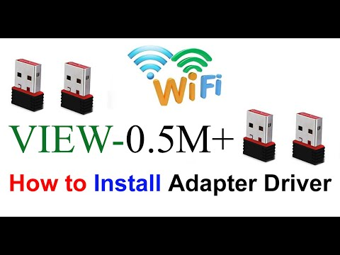 How to install wifi adapter driver for windows 7 | ideas