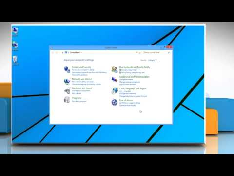 How to enable network discovery on windows® 8.1