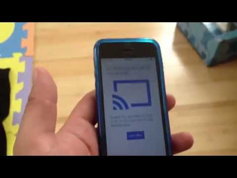 Trying to setup chromecast on different network without factory reset device