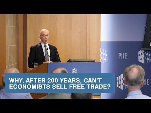 Why, after 200 years, can't economists sell free trade?
