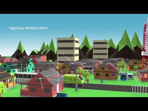 The world's 1st mesh network for grids - engineered at ltts