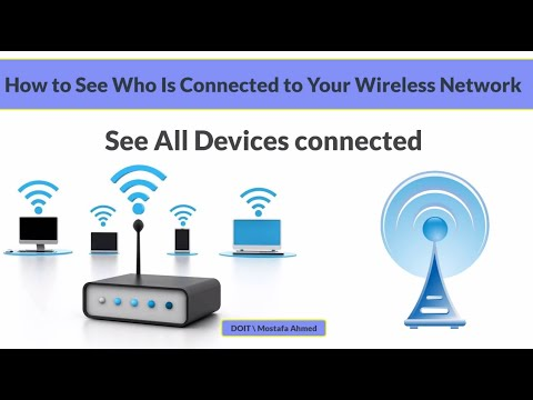 How to check who is connected to your wireless network