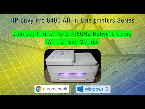 Connect hp printer to a wireless network using wifi direct method