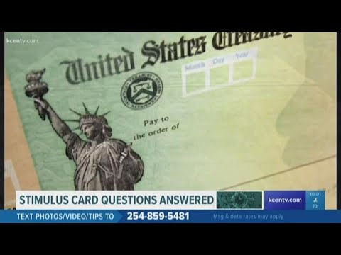 Withdrawing and transferring money from your stimulus debit cards