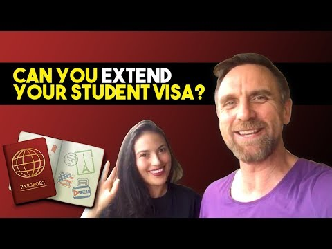 Extend or renew a student visa in australia