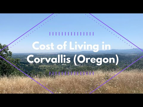Moving to corvallis video series, part 3: cost of living in corvallis (oregon)