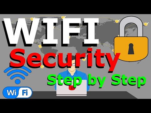 How to secure your home wifi network // easy step by step guide