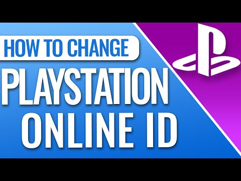 How to change your playstation online id