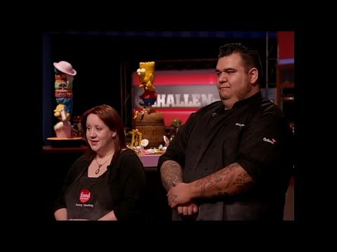 Food network challenge: simpsons mystery cakes