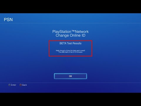 *psn name change*/ change your psn gamertag - beta test results (ps4 update 6.10)