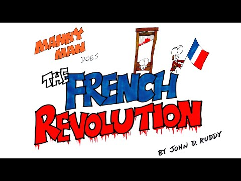 French revolution in 9 minutes - manny man does history