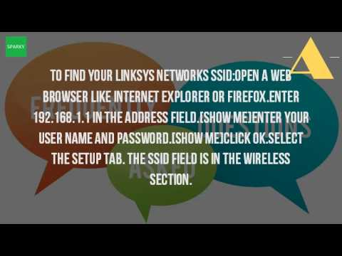 How do i find the ssid of my router?