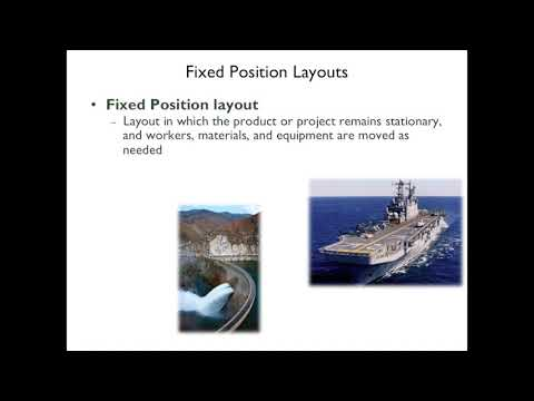 Lecture 6 process selection and facility layout
