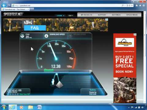 How to test the speed of your internet connection