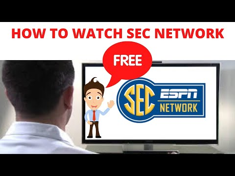How to watch sec network channel free live stream