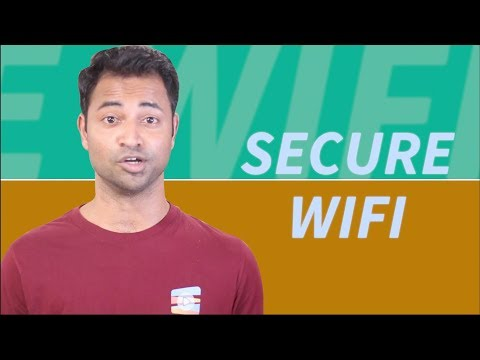 How to secure home wifi network