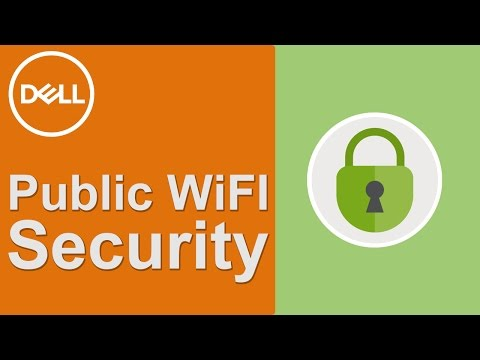 How to stay safe on public wifi dell(official dell tech support)