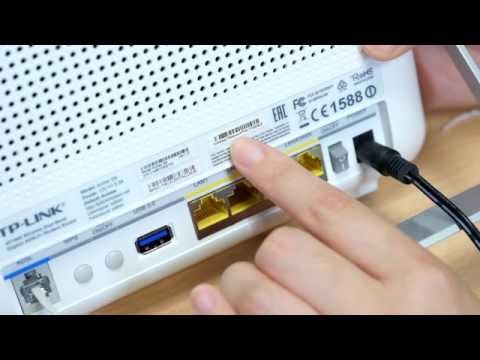 Tp-link modem routers   wireless dual band modem router setup tutorial video