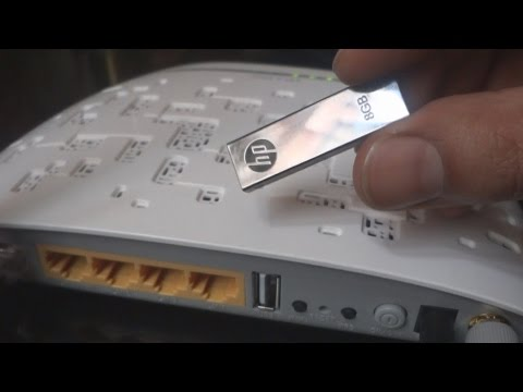 Share a hard drive with everyone on your wi-fi network - network hard drive using router usb