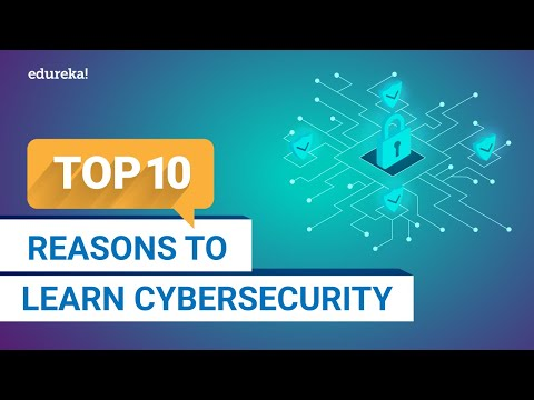 Top 10 reasons to learn cybersecurity in 2021 | why cybersecurity is important | edureka