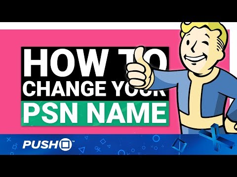 Psn name changes: how to change your playstation network username   ps4   guide