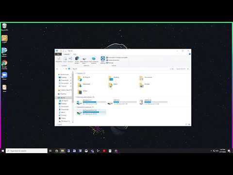 How to map a network drive on windows