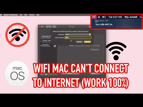 How to fix wifi mac error not working (can't connect)