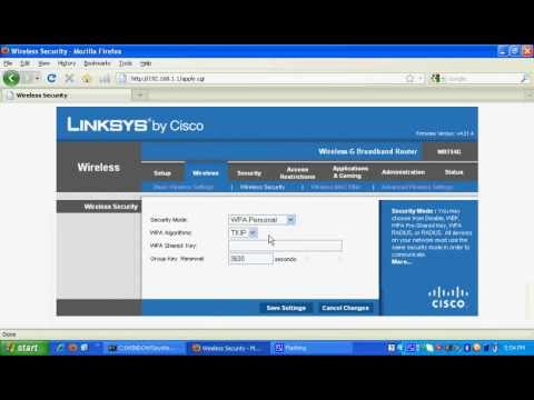 How to find wireless network key