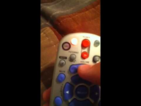 Program a dish network remote to your tv