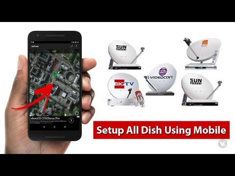 How to setup all dth dish tv using android app 2020