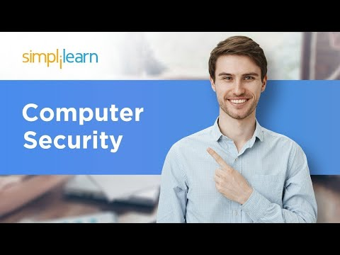 Computer security | what is computer security | cyber security tutorial | simplilearn