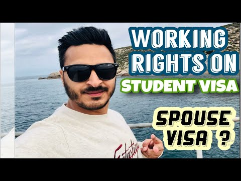 International student and spouse working hours in australia?