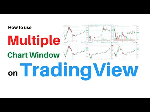 How to see multiple charts on tradingview at the same time | multiple charts window on tradingview