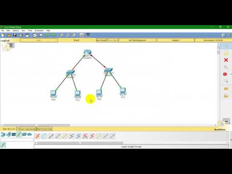 Configure basic network pc to router using cisco packet tracer [ part-1]