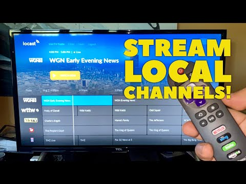 How to live stream local tv channels!