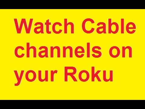 How to watch cable tv on roku with spectrum