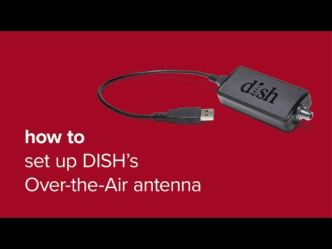 How to set up dish's ota adapter