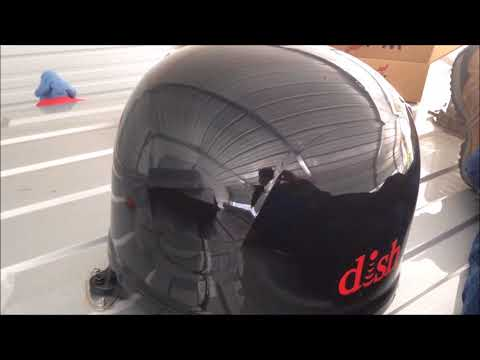 Installation of dish playmaker and wally receiver on roadtrek simplicity b motorhome