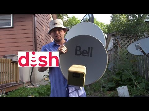 Why you can't use a dish network dish for #freesatellitetv or free to air satellite