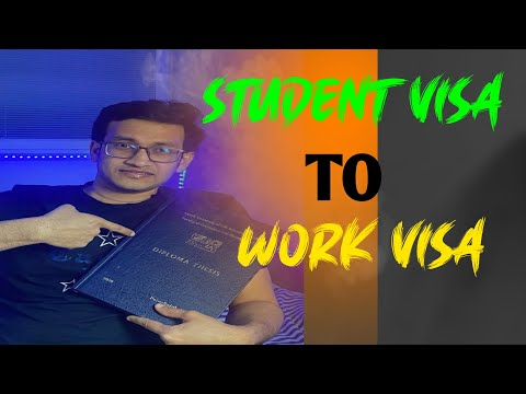 Converting a study permit to a work permit | student visa to work permit | czech student visa for bd