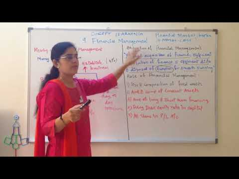 Financial management - meaning, role of finance business studies class 12 cbse