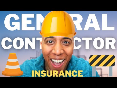 The best insurance for a general contractor – business insurance explained