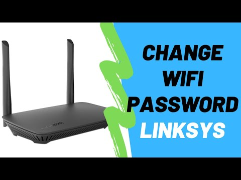 How to change wifi password on a linksys router