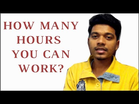 Working part-time in canada | how many hours you can work? explaining cash and sin job