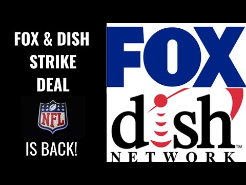 Fox dish network sign deal - nfl back on dish for fox