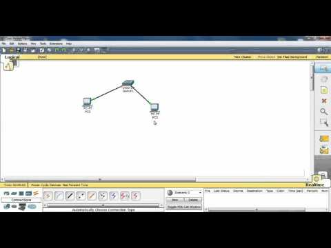 How to create network lan in cisco packet tracer