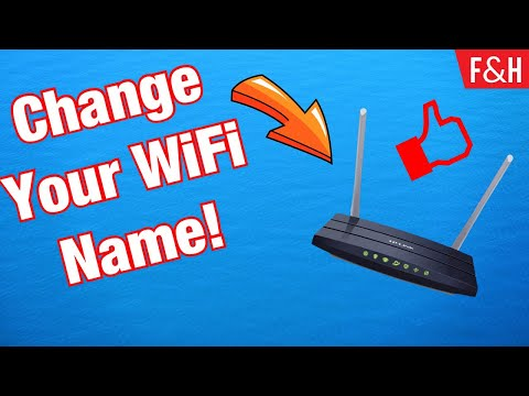 How to change your wireless router's / wifi name easily 2019