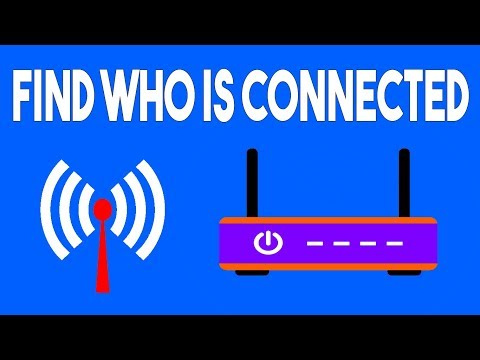 How to find who is connected to your wi-fi network